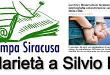 Lentini| Silvio Breci, direttore di Webmarte, minacciato online dal padre di un arrestato