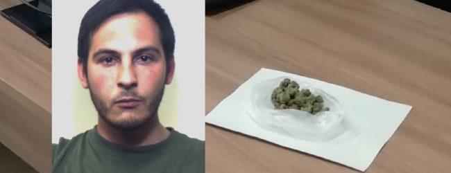 Augusta  Continuava a spacciare droga dalla sua casa: arrestato dai carabinieri