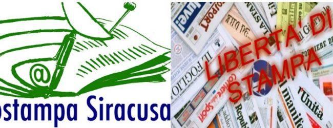 Siracusa  Minacce ai giornalisti: Assostampa incontra il Procuratore Gambino