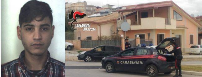 Solarino| Evade gli arresti domiciliari, 23enne denunciato