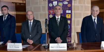 Augusta  I lions ricordano l'amico e socio Rosario D'Onofrio scomparso l'1 aprile