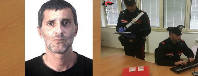 Augusta  Arrestato dai carabinieri uno spacciatore di cocaina: la custodiva negli slip