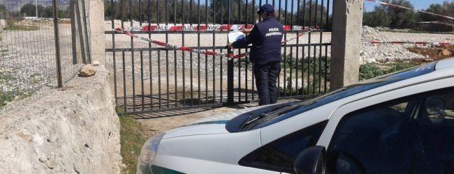 Floridia| Sequestrata una discarica abusiva e denunciata una persona