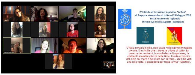 Augusta  Celebrata dal Ruiz sul web la festa dell'autonomia siciliana.