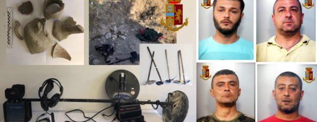 Noto| Arrestati quattro 4 ladri di beni archeologici