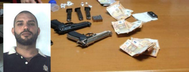 Priolo Gargallo| Trovato con droga e due pistole: Arrestato dai carabinieri