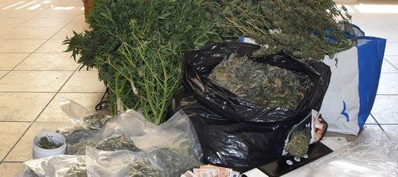 Siracusa| Controlli antidroga: scoperto un appartamento adibito alla coltivazione di marijuana