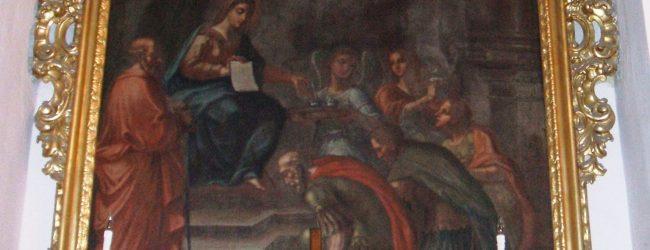 Augusta| Madonna della Lettera, omaggio floreale dalla confraternita di S. Giuseppe