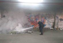 Siracusa| Talete, principio di incendio spento da una pattuglia della Municipale