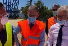 Augusta| L'assessore Falcone al porto: occorre accelerare i lavori