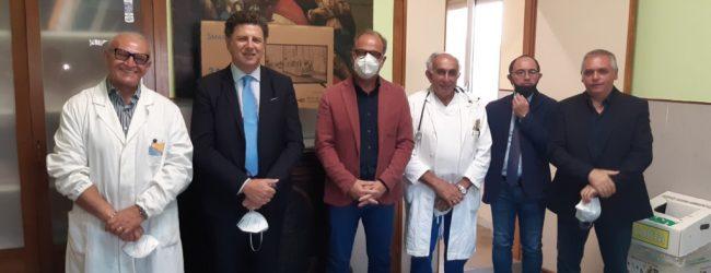 Noto| Covid-19: donazioni dei Comuni all'ospedale Trigona