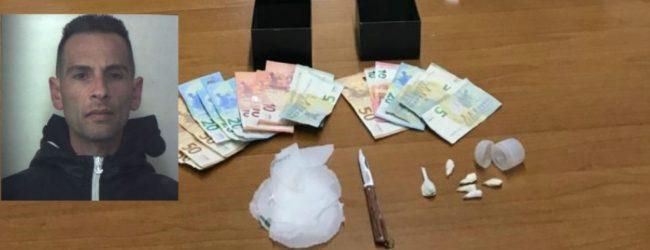 Rosolini  Sottoposto agli arresti domiciliari deteneva droga in casa