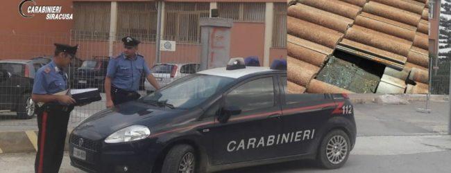 """Rosolini  Grazie alla segnalazione dei cittadini, i carabinieri deferiscono tre ladri di """"tegole"""""""