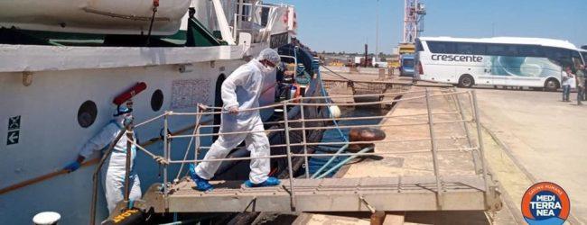 Augusta  8 migranti positivi al Covid a Noto, tra i 43 sbarcati ieri al porto