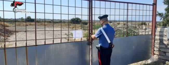 Villasmundo| Sequestrata discarica abusiva in contrada Corvo: denunciato un 54enne