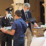 Augusta| Un casco per la vita: Mattia Lombardo del Corbino premiato