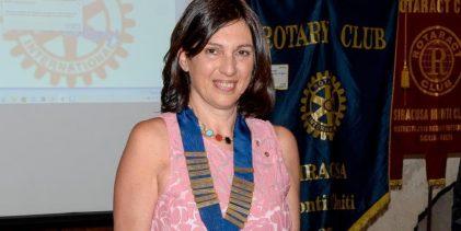 Siracusa  Rosalia Raiata è il nuovo presidente del Rotary Club aretuseo-Monte Climiti