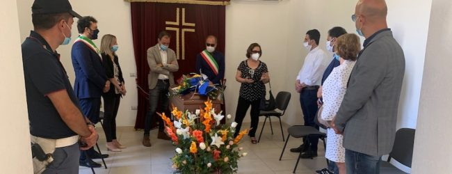 """Noto  La salma di Lele Scieri e' tornata a """"casa"""""""