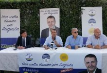 Augusta| Casertano sostenuto da Lega e FdI ha ufficializzato la sua candidatura<span class='video_title_tag'> -Video</span>