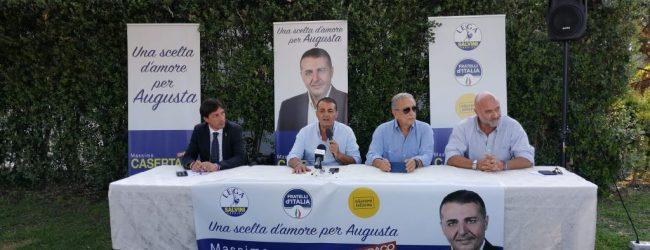 Augusta| Casertano sostenuto da Lega e FdI ha ufficializzato la sua candidatura