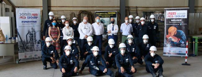 Siracusa  Piano formativo condiviso: occupazione per saldatori e tubisti industriali