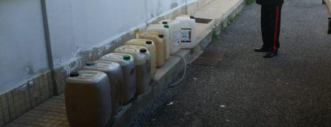 Augusta| Stava per rubare oltre mille litri di gasolio: arrestato dai Carabinieri