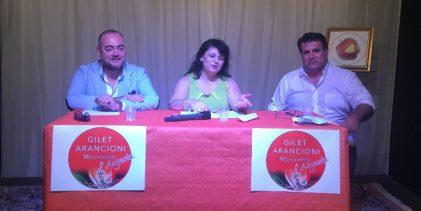 Augusta  Gilet Arancioni per le comunali: No alla Lega e al M5S