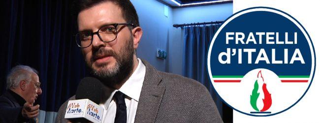 Augusta  Pietro Forestiere il candidato sindaco di Fratelli d'Italia