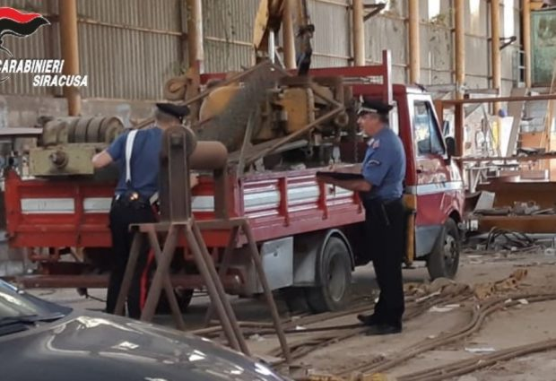 """Priolo Gargallo  Arrestati due siracusani per furto in """"trasferta"""""""