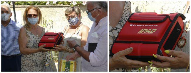 Siracusa| Donato un Defibrillatore alla Comunità Alloggio Paolo Ciulla