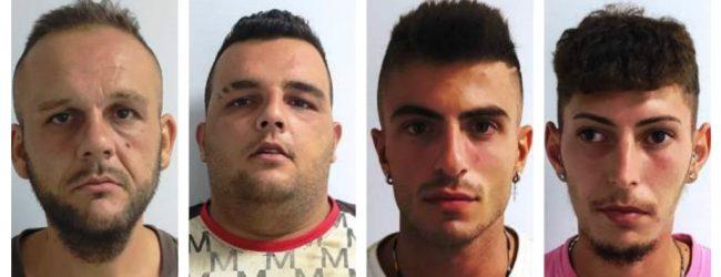 Siracusa e Provincia| Arrestate 4 persone per furto di agrumi e carrube