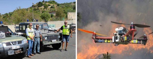 Noto  Droni della Protezione Civile comunale per prevenire i danni da incendi