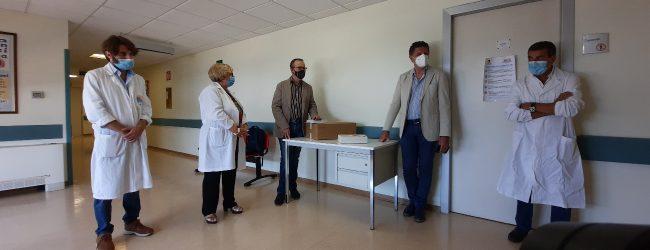 Lentini | Elettrocardiografo al reparto di talassemia, dono della Fasted<span class='video_title_tag'> -Video</span>