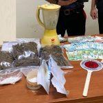 Francofonte | Droga, denaro e pistole a salve in casa, arrestato 47enne