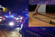 Siracusa| Deferito un 37enne per porto abusivo di armi: trovato in possesso di una katana lunga 105