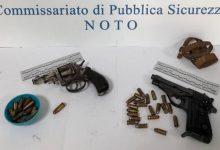 Noto| Denunciato un 71enne per detenzione illegale di armi