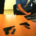 Lentini | Trovate due pistole in via Scala, erano nascoste in un'aiuola