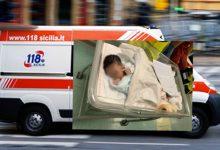 Siracusa e Provincia| Nasce nella notte a bordo di un'autoambulanza del 118 in corsa verso l'Ospedale