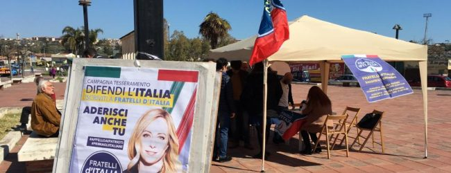 Augusta| Fratelli d'Italia apre ai movimenti civici e lancia una campagna per la città