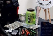 Siracusa| Nascondeva la droga nel barattolo delle proteine