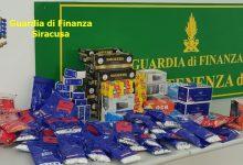 Siracusa-Noto| Sequestrati dalla Gdf oltre 110 mila accessori da fumo illegali