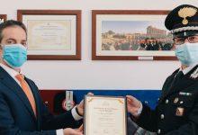 Augusta| Il premio Covid Warrior Awards al maggiore Stefano Santuccio