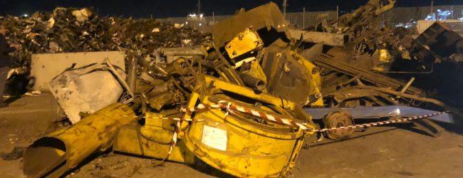 Augusta| Filiera di rottami ferrosi al porto, circa 23 tonnellate: sequestro e denuncia