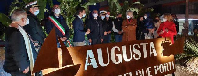 Augusta| Un nuovo ingresso, donato alla città da Unionports, inaugurato ieri