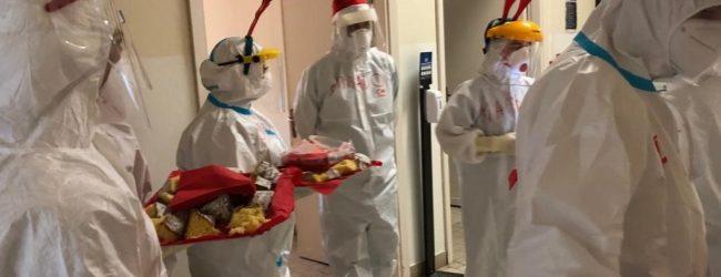 Siracusa| Natale in corsia tra i pazienti Covid