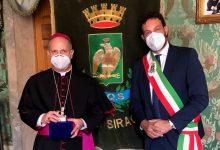 Siracusa| L'arcivescovo Lomanto incontra Italia per la prima volta a palazzo Vermexio