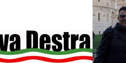 Augusta| Eros Garrisi nominato vice coordinatore comunale di Riva Destra