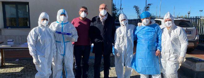 Carlentini | Screening anti Covid a Pedagaggi, tutti negativi i 174 tamponi effettuati
