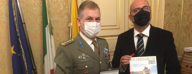 Augusta| Il colonnello dell'Esercito, Lucca in visita al Municipio