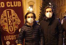 """Augusta  Leo Club in piazza Duomo per la raccolta fondi """"Leo for  Safety & Security"""""""